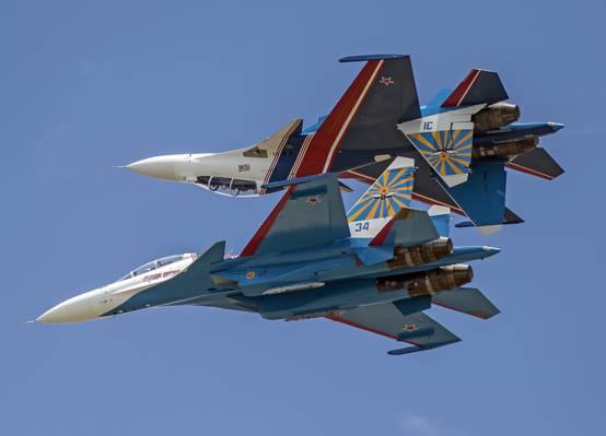 苏霍伊,侧卫,苏-30SM