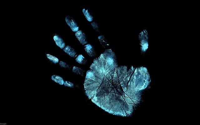 手,流苏雕文,指纹