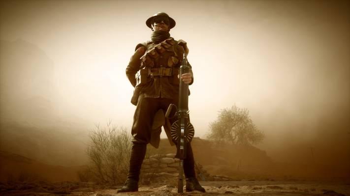 武器,战争,游戏,战地1,电子艺术,战士,机枪,英国