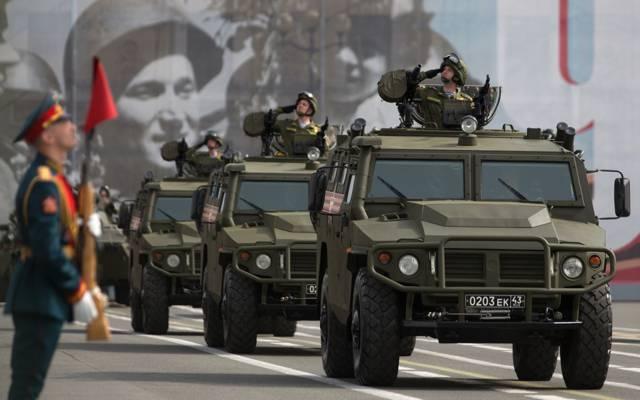 """""""老虎"""",车,通畅,高,红场,装甲车,俄语,多用途,GAZ-2330"""