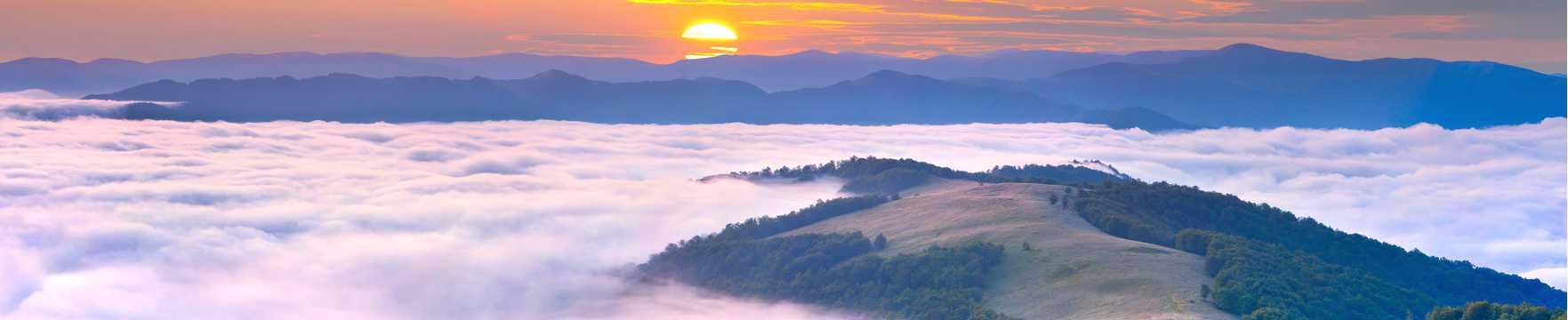朝阳云彩唯美境界图片
