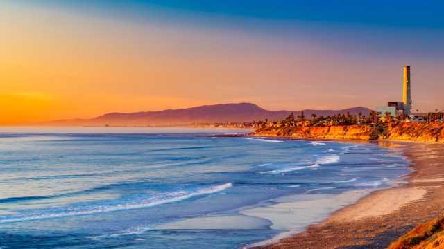 秋季的加利福尼亚州自然景色图片