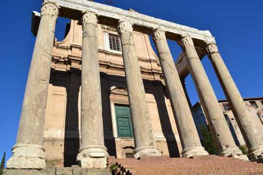 雅典卫城帕特农神庙图片