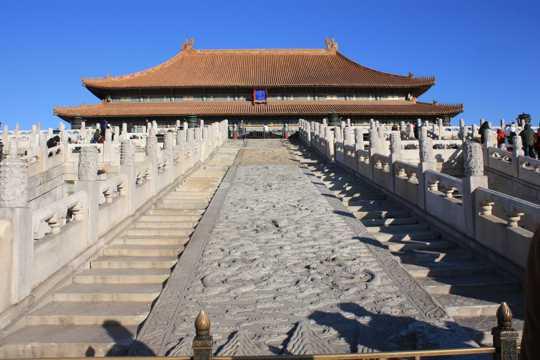 北京故宫建筑光景图片