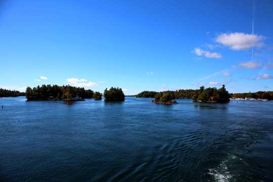 加拿大加东千岛群岛之千岛湖景色图片