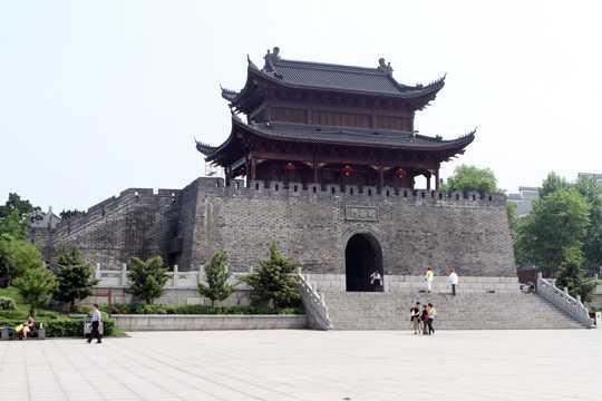 湖南岳阳楼人文景物图片