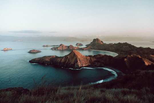 幽静海洋唯美景色图片