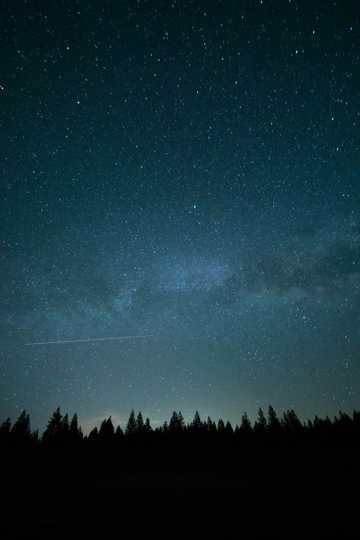 宇宙银河光景图片