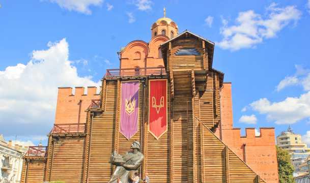 乌克兰圣索菲亚大教堂都会景致图片