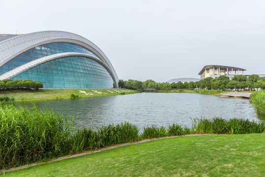 上海视觉艺术学院校园景象图片