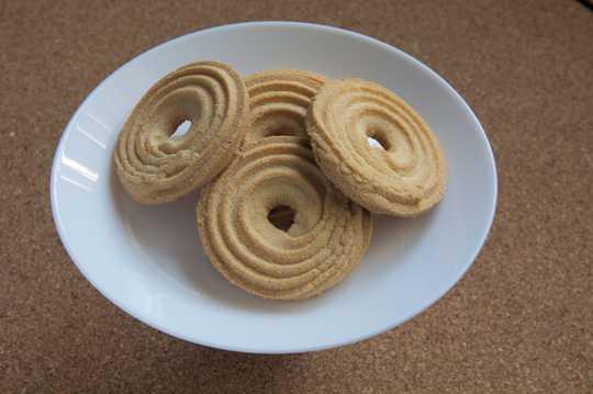 香脆烤饼干图片