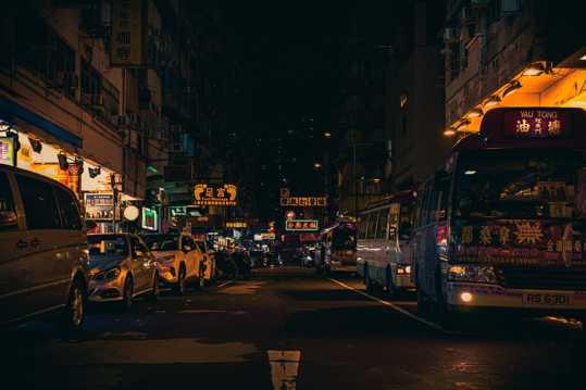 香港夜景高清图片