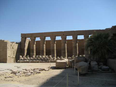 埃及卢克索建筑景致图片