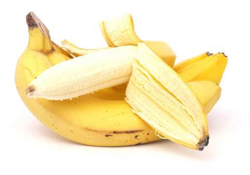 剥皮的香蕉图片