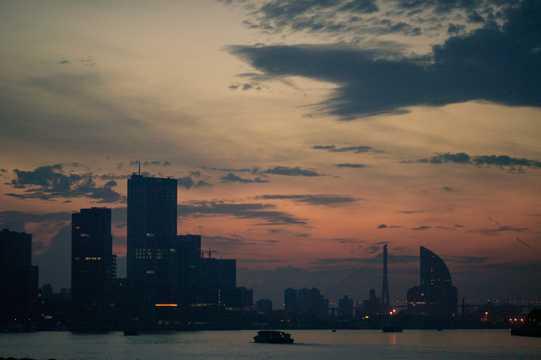 上海繁荣夜景图片
