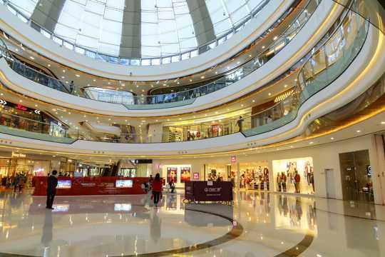 万达广场商场内部图片