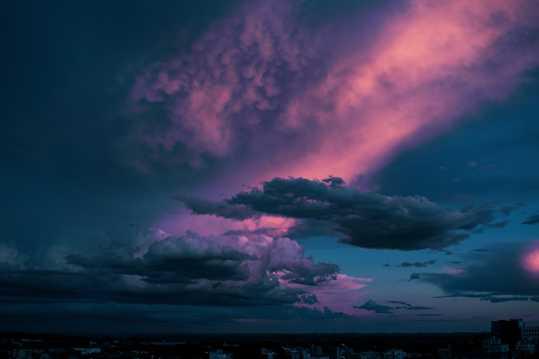 天空唯美云彩景物图片