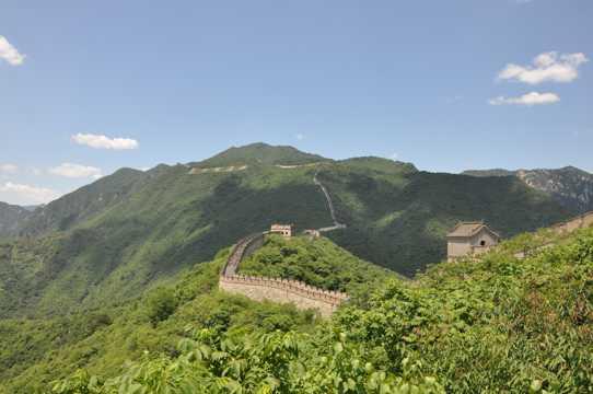 金峰峦长城景色图片