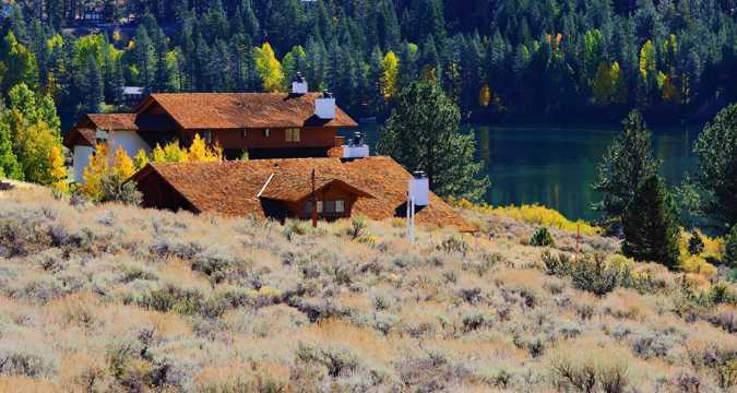 美国加州秋天光景图片