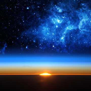 唯美宇宙星空图片