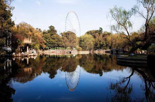 江苏无锡蠡园景物图片