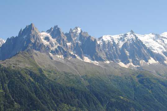 阿尔卑斯高山景观图片