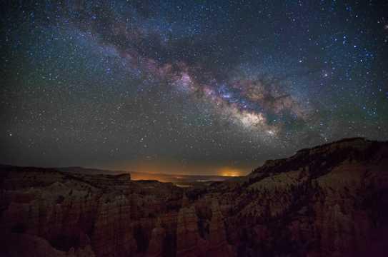 犹他州银河图片