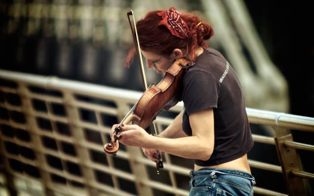 游戏,小提琴,音乐