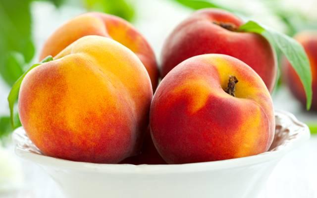 美味的桃子