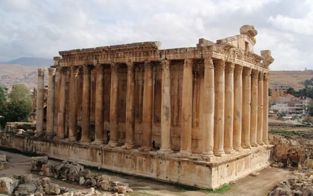 黎巴嫩,巴勒贝克,巨石,古城遗址