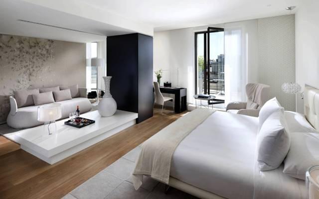花瓶,沙发,风格,房间,内部,表,白,床,灯,光,枕头,卧室,椅子,阳台,设计