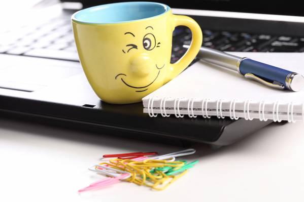 手柄,微笑,高科技,笔记本,触摸板,技术,微笑,积极,笔记本电脑,笔记本电脑,创意,剪辑,杯,触摸板,好...