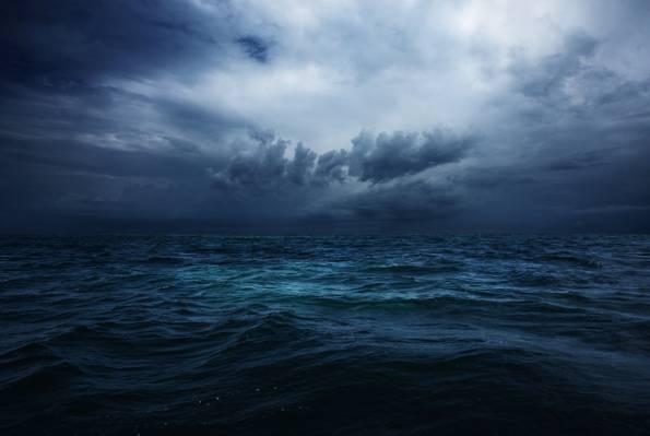 非洲,风暴,坦桑尼亚,桑给巴尔,冬天,印度洋,天空,云彩