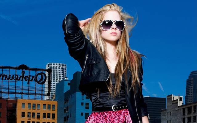眼鏡,艾薇兒,Avril Lavigne,歌手,女孩