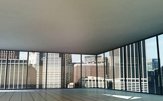 内部,玻璃,房间,办公室,建筑物,城市