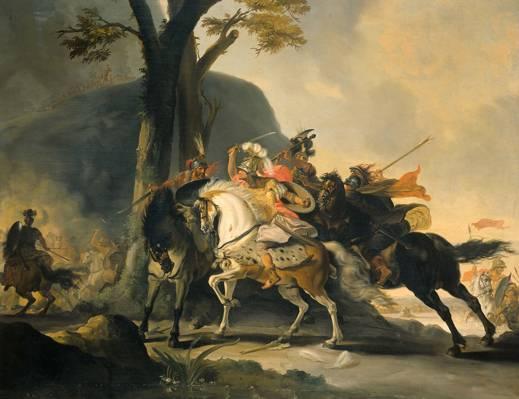 亚历山大大帝科内利斯·特罗斯特在波斯人战斗,历史,...