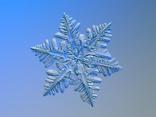 雪花装饰高清壁纸