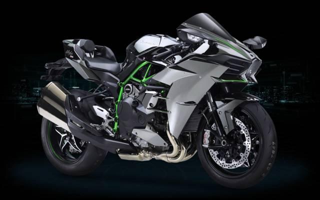 摩托车,忍者,强大,326马,东方,998cc发动机与增压器,亚洲,技术,亚洲,设计,...  -