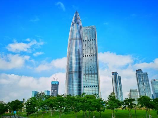 深圳华润大厦景色