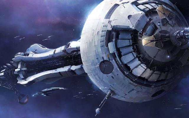 武器,舰船,号角,质量效应3,空间