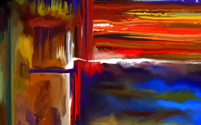 颜色,形式,抽象