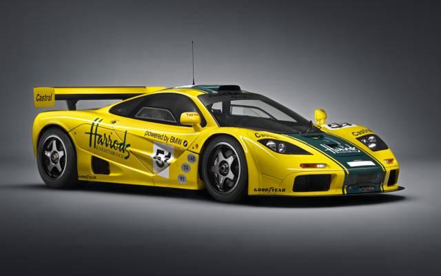 GTR,迈凯轮,1995年,迈凯轮,超级跑车