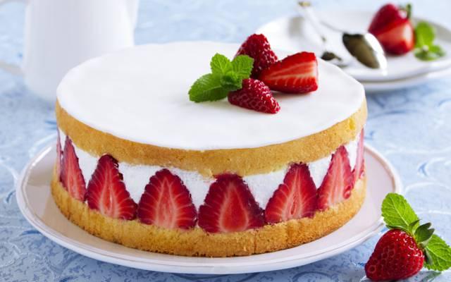 浆果,蛋糕,蛋糕,蛋糕,甜点,草莓