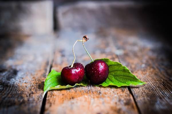 浆果,浆果,甜,新鲜,樱桃,樱桃,樱桃