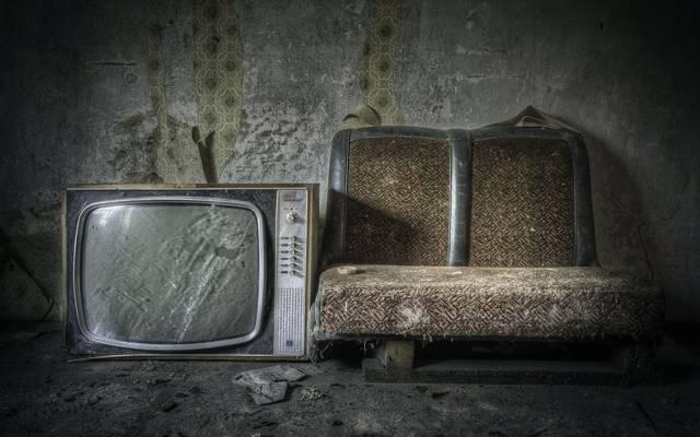 房间,沙发,电视