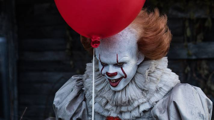 2017,红色,小丑,BillSkarsgård,它,Pennywise