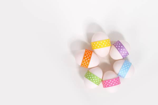 关闭六个复活节彩蛋高清壁纸摄影