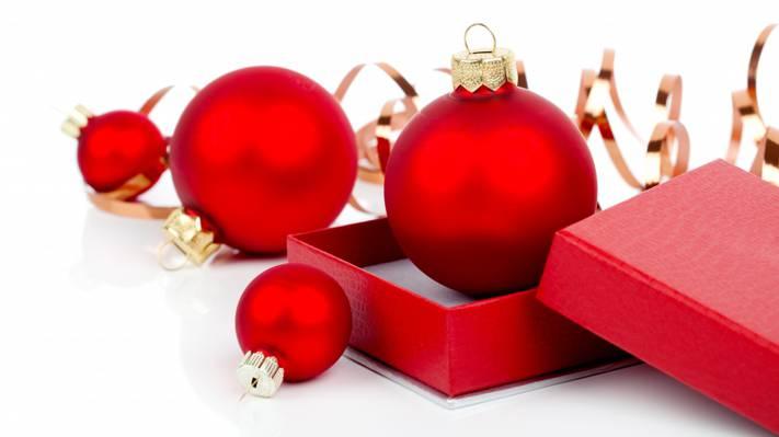 壁纸球,玩具,新年,框,红色,磁带,圣诞节,新年,圣诞节,模式,球,圣诞节