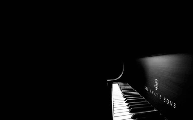 黑色和白色,钢琴,钥匙