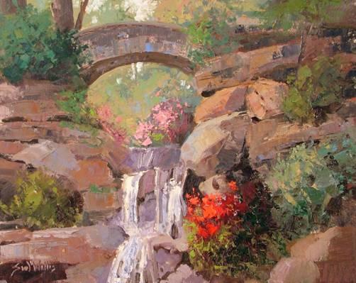 肖恩·沃利斯,岩石之中,艺术